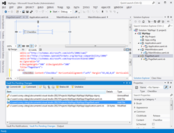 Notify - Visual Studio Screenshot